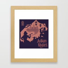 Arabian Nights Framed Art Print