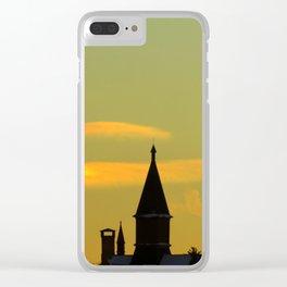 Sunset Sun Dog (2) Clear iPhone Case