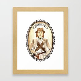 Getrudis from Like Water for Chocolate Framed Art Print
