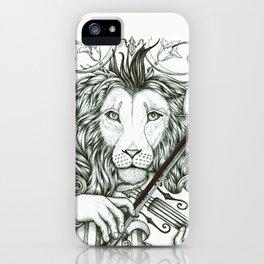 Lionviol iPhone Case