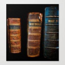 Holy Bibles Canvas Print