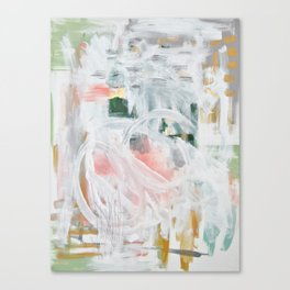 Emerging Abstact Canvas Print