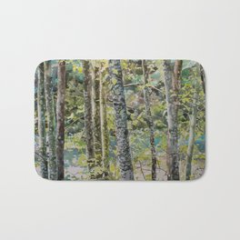 On either side of the river Bath Mat
