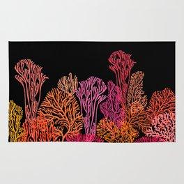 Coral Garden Rug