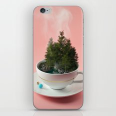 Hot cup of tree iPhone & iPod Skin