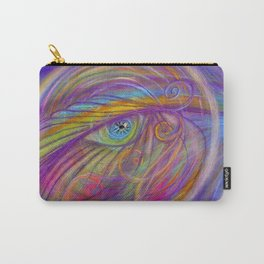 Guardian Angel with Feather Carry-All Pouch
