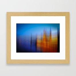 Westminster colours Framed Art Print