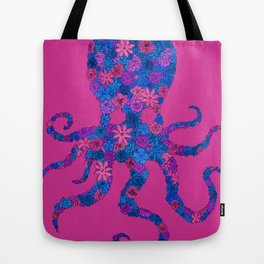 Octo Bloom Tote Bag