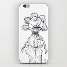 Wendell Can't Wait Until Tomorrow, Casual Friday iPhone Skin