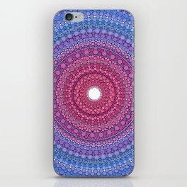 Keeping a Loving Heart Mandala iPhone Skin