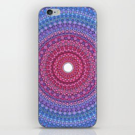 Keeping a Loving Heart Mandala iPhone Skin