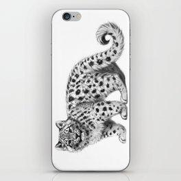 Snow Leopard cub g142 iPhone Skin