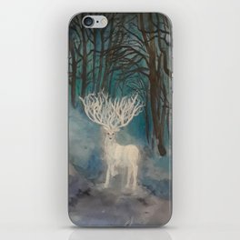 White Stag iPhone Skin