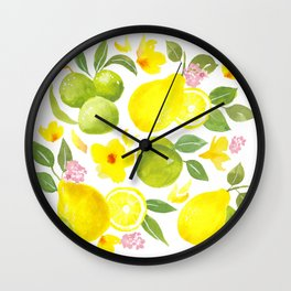 citrus collection Wall Clock