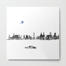 Liverpool city Metal Print