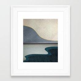 Minimal Landscape 05 Framed Art Print
