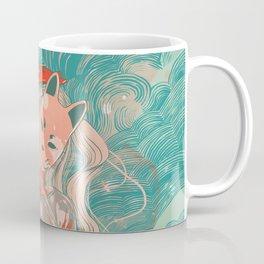 Kitsune Crayon Coffee Mug