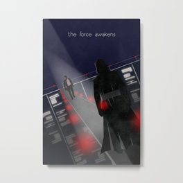 The Force Awakens Metal Print