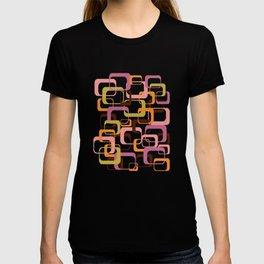 Mid Century Mod Shapes T-shirt