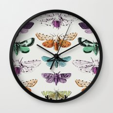 Techno-Moth Collection Wall Clock