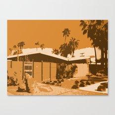 Twin Palms 2 Canvas Print
