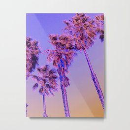 California Purp Metal Print