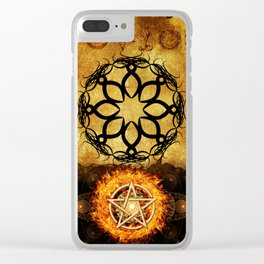 Symbols of the Occult Clear iPhone Case