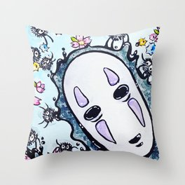 StarCandy Soots and Spirits Throw Pillow