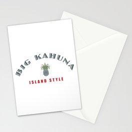 Big Kahuna Island StylePineapple Stationery Cards