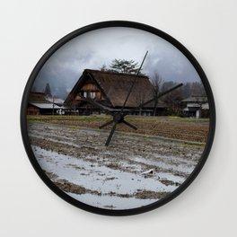 Shirakawa-gō 2 Wall Clock
