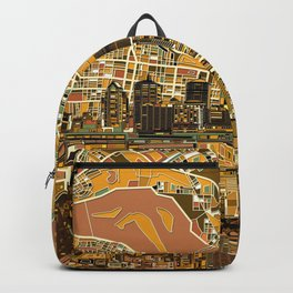 louisville city skyline 2 Backpack