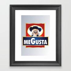 MEGUSTA demais! Framed Art Print