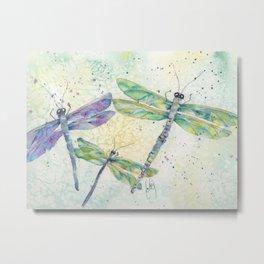 Xena's Dragonfly Metal Print