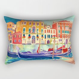 sunshine in Venezia Rectangular Pillow
