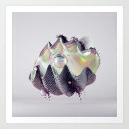 Clam Composition Art Print