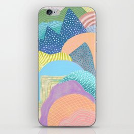 Modern Landscapes and Patterns iPhone Skin