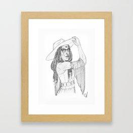 Perille-Myrina Fay Framed Art Print