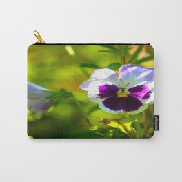 Beautiful Pansy  Carry-All Pouch