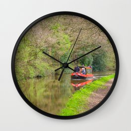 Leeds and Liverpool Canal Wall Clock