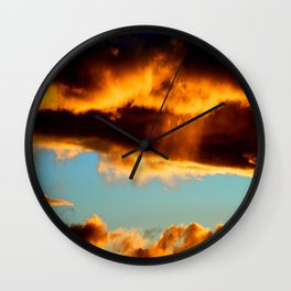 Sunset #190 Wall Clock