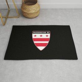 Washington D.C. Shield Rug