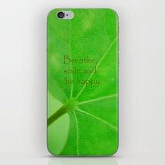 Green Curve iPhone & iPod Skin