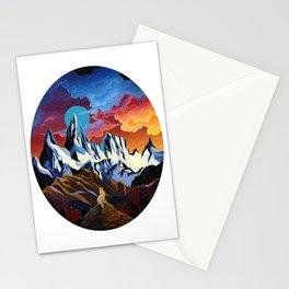 Moon Dog Stationery Cards