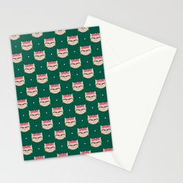 Frida the Cat Mexican Painter Repeat Stationery Cards