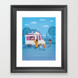The Nick Yorkers in August Framed Art Print