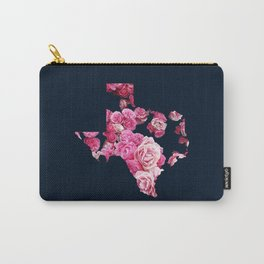 Pink Texas Roses Carry-All Pouch
