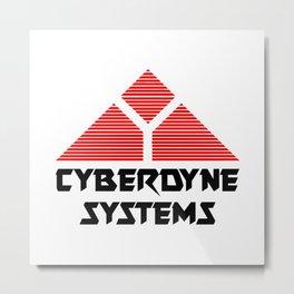 TERMINATOR - CYBERDYNE SYSTEMS Metal Print