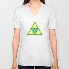 The Tribal Triforce Unisex V-Neck