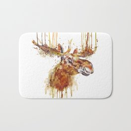 Moose Head Bath Mat