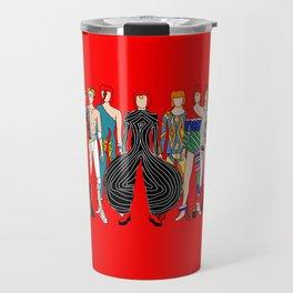 Starman on Red Travel Mug